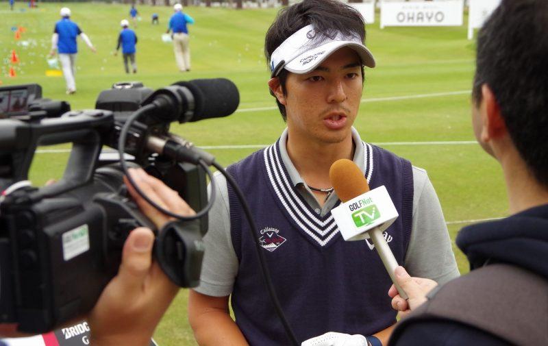 インタビューで今大会への意気込みを語った石川遼|(撮影:ALBA)