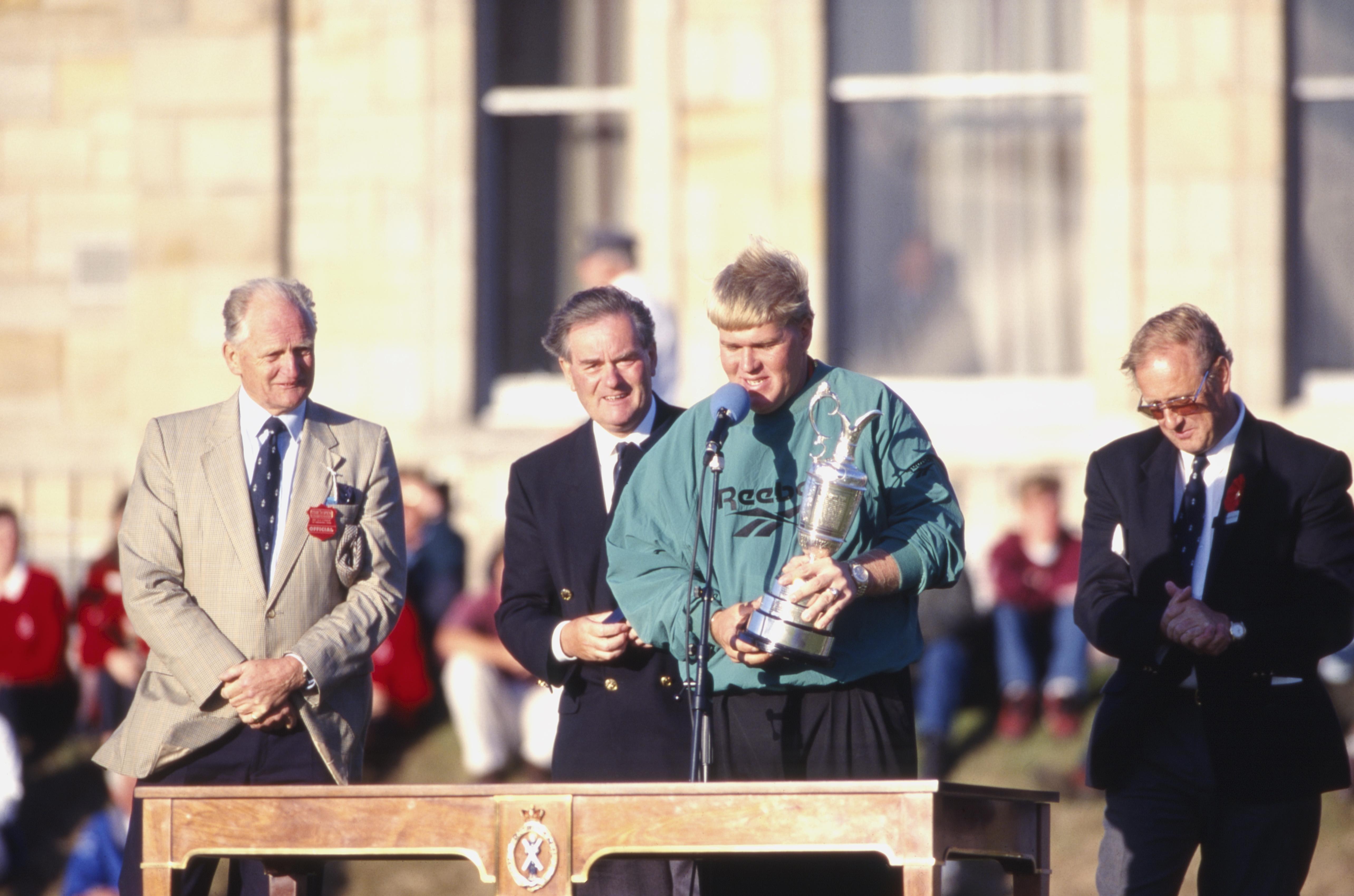 今年の全英オープン出場を断念した1995年王者のジョン・デーリー 写真・Getty Images